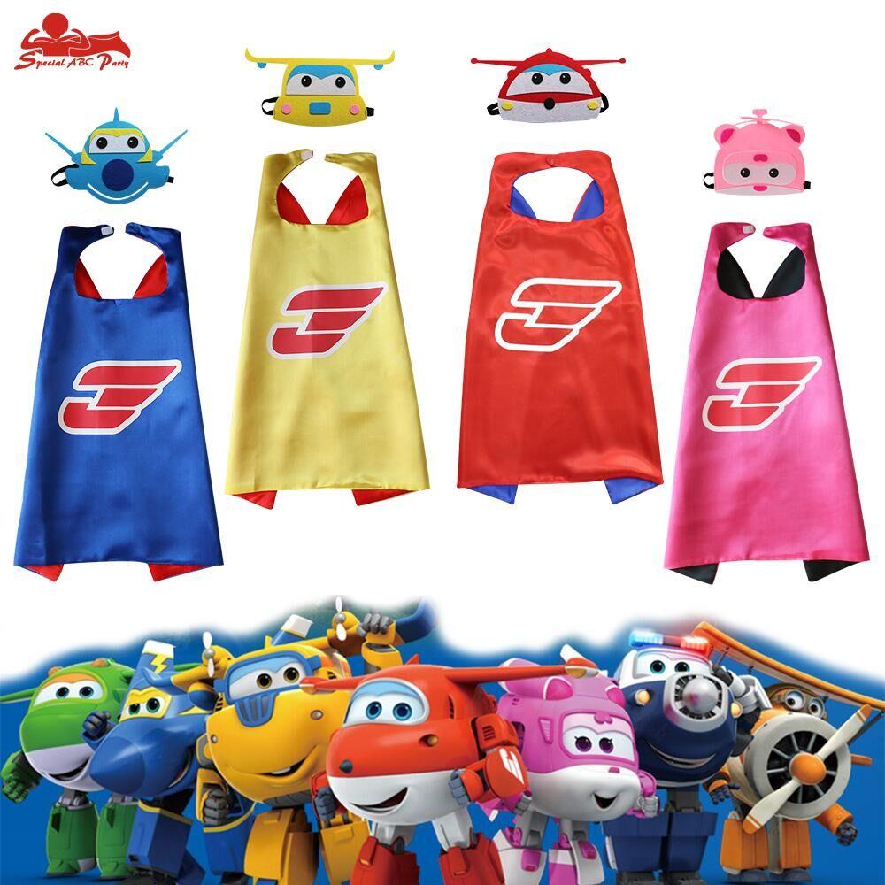 新款儿童超级飞侠表演服酷飞乐迪小爱多多披风头饰活动衣服服饰