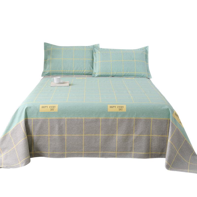 加厚纯棉老粗布单件单双人/ 2m床单质量怎么样