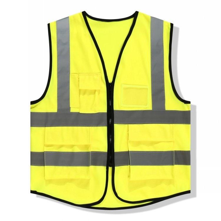铁路用马甲加肥加大黄色道路用反光马夹背心公路施工路政服装汽车
