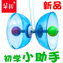 China Bell Bamboo Monopoly Beginner assistant double head bearing bamboo empty children students adult ringing campus