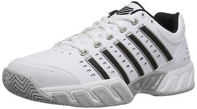 Buy K-Swiss gasway sneakers for mens bigshot light silver black white simple tennis shoes