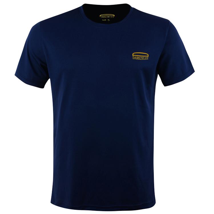 夏季运动户外正品短袖速干T恤 男 透气宽松大码跑步速干衣