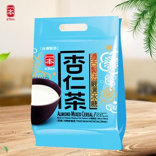一本台湾进口休闲食品冲调饮品冰糖杏仁茶代餐粉 杏仁粉450g袋装图片