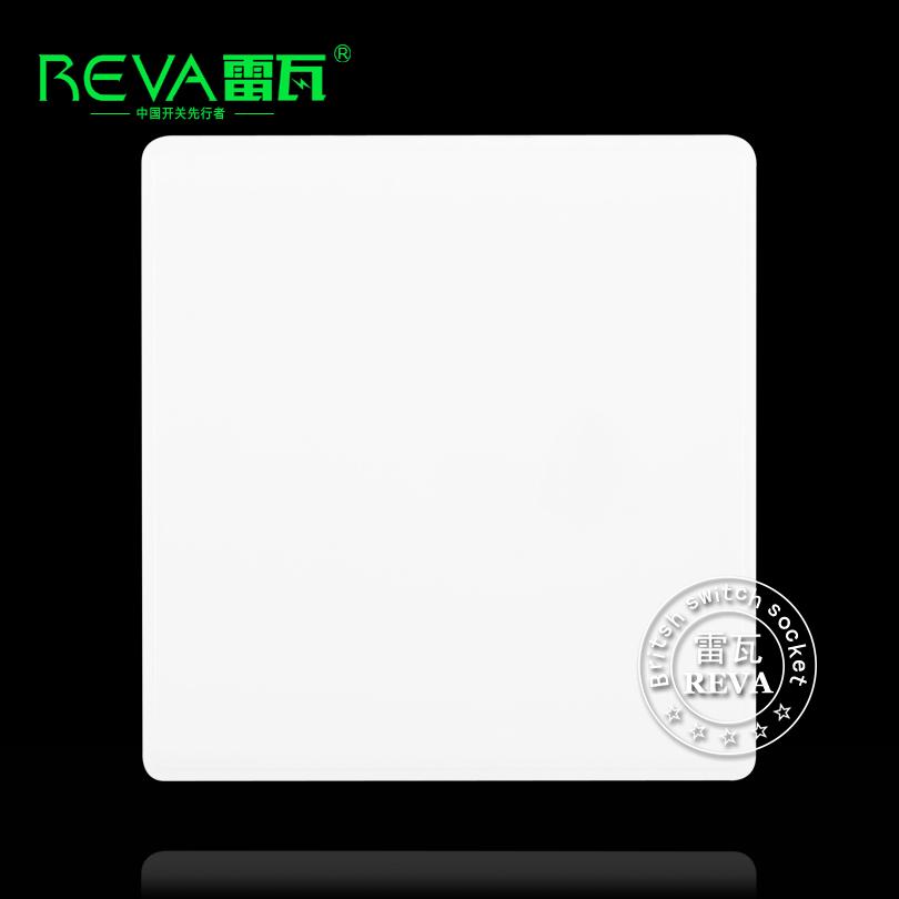 86型墙壁开关插座面板空白面板白板挡板暗盒盖板填空件预留板白板
