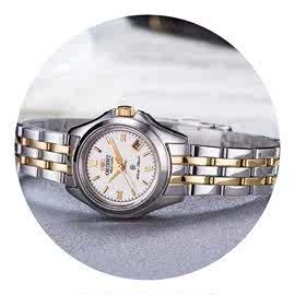 礼物手表女表全自动机械表带日历镂空防水时尚潮流手表日韩腕表不图片