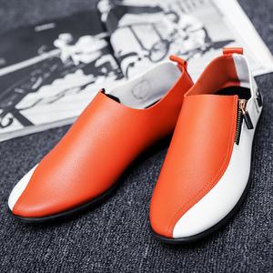 2020夏季社会小伙韩版休闲男鞋男士驾车豆豆鞋百搭英伦学生潮鞋子