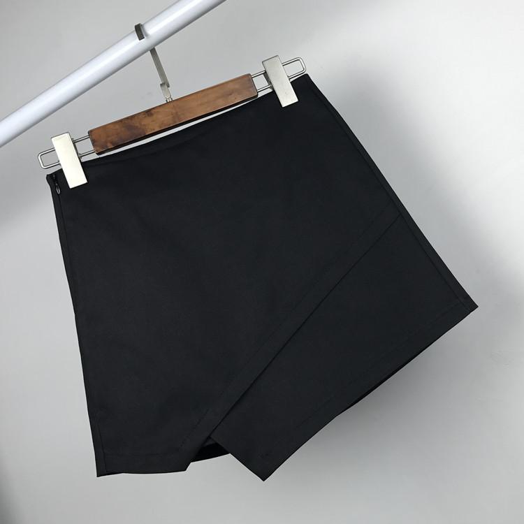 【天天特价】韩版裙裤不规则高腰短裤裙百搭半身裙显瘦外穿包臀裙