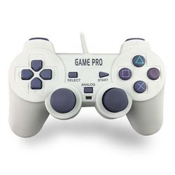 PS游戏手柄 PS1有线手柄 PS1振动手柄 PS1带摇杆手柄 PSONE手柄
