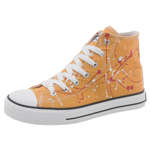 Huili hand-painted shoes changed from graffiti canvas shoes to women's high top 2020 new Korean style spring small white shoes