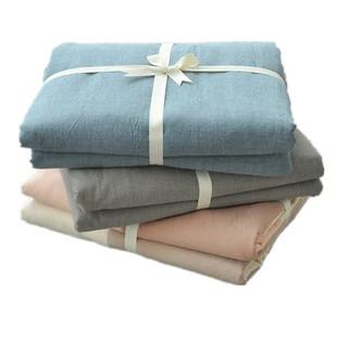 无印良品水洗棉单件单人全棉被套