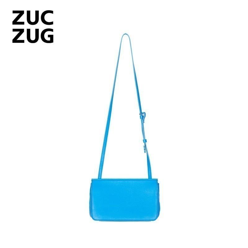 ZUCZUG/素然 EXTRA系列 经典牛皮斜背包 E171BA10