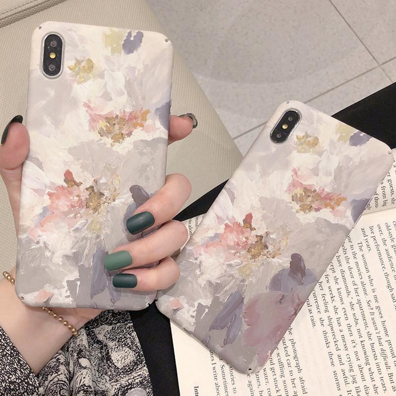 券后8.80元ins艺术水彩花oppoA9手机壳oppoA57全包边A59/A73/A77/A