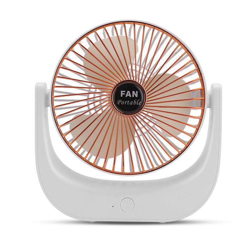 usb小风扇可充电迷你随身静音学生宿舍办公室桌面电扇手持便携式
