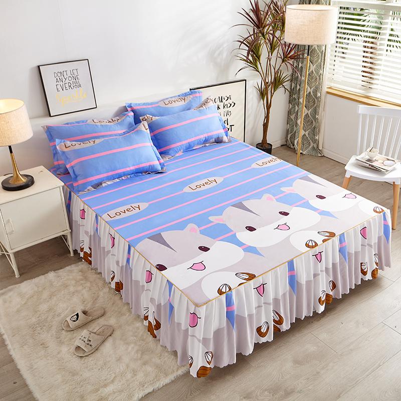 床罩床裙单件防尘罩保护套夏季1.5米1.8床单床笠全包防滑2021新款