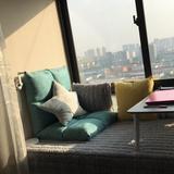 懒人沙发榻榻米床上卧室飘窗小沙发网红款阳台休闲靠背椅女生可爱