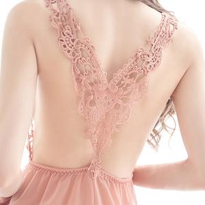 情趣内衣性感睡衣透明女火辣夏薄款胸罩吊带蕾丝午夜魅力冰丝睡裙