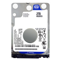 WD West data WD20SPZX West number blue disk 2TB 2.5 inch notebook hard disk 2t computer mechanical hard disk SATA interface 7mm