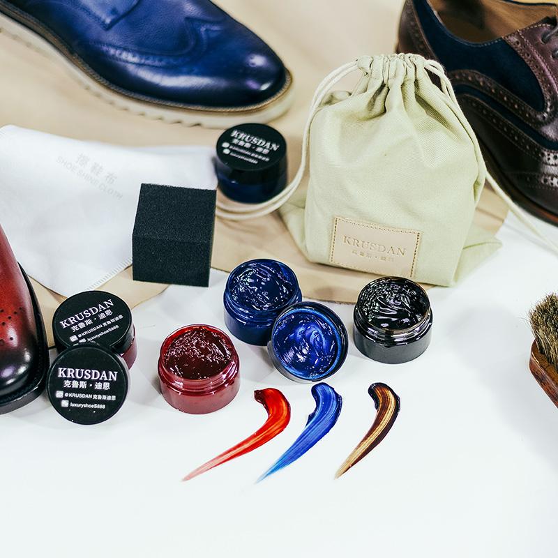 弓长梦男鞋 鞋油护理包 码数定制专拍 刻字铜模制作需5-7天时间
