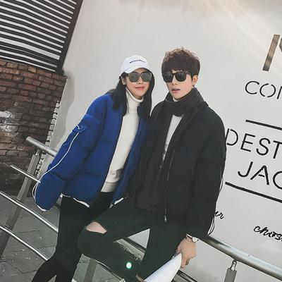 有差价B349-F02-P105 韩版情侣修身短款棉衣男女保暖休闲棉服外套