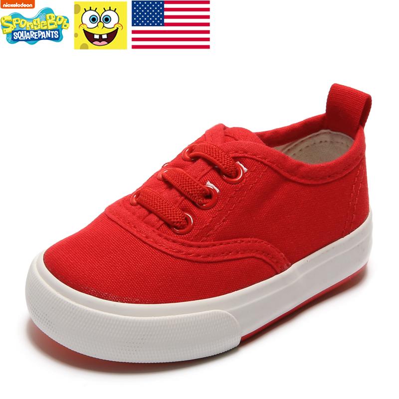 美國品牌童鞋兒童軟底帆布鞋布鞋男童女童寶寶鞋幼兒園小白鞋球鞋