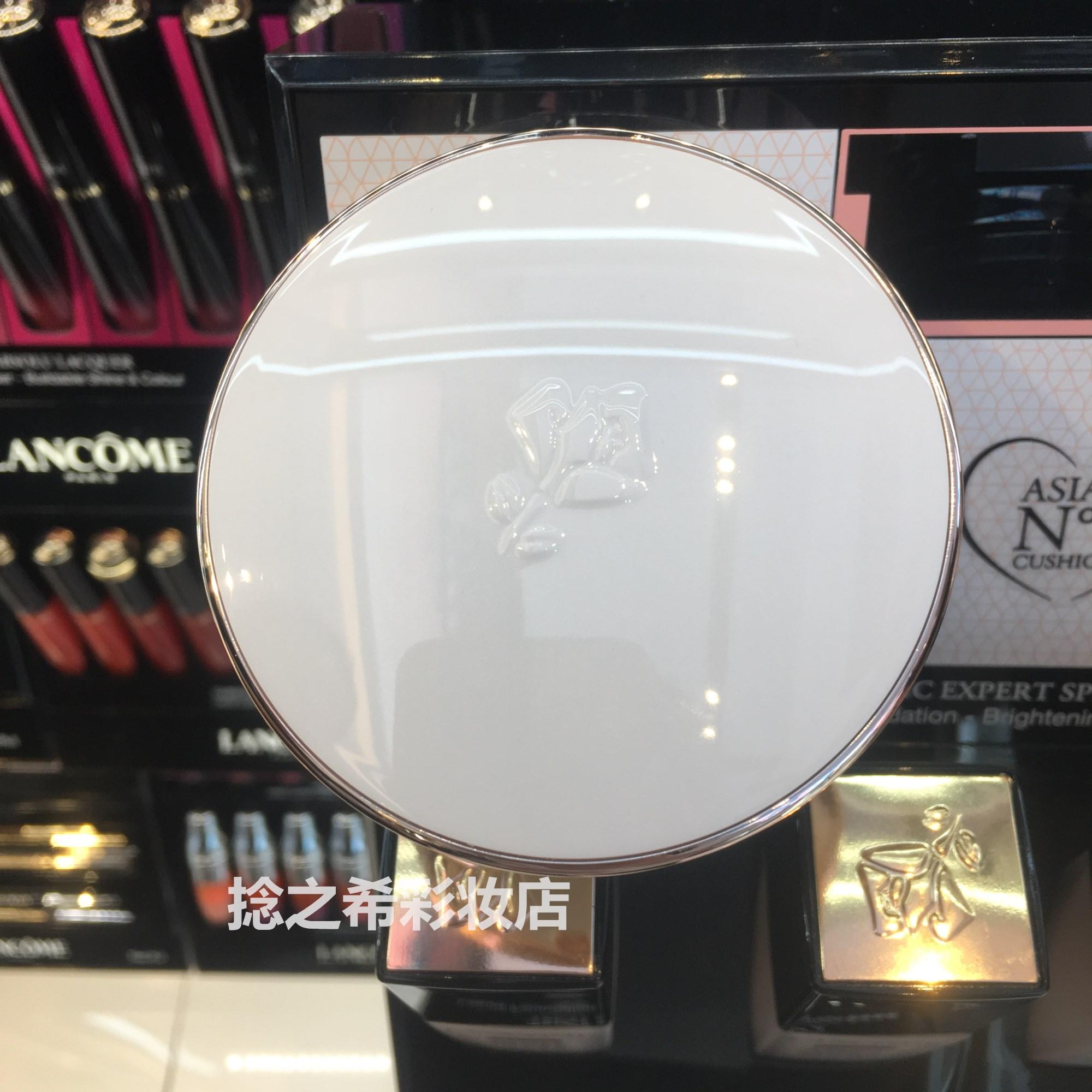 兰蔻气垫CC霜修颜隔离乳bo01一芯一盒套装有粉扑图片