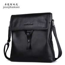 Men's single shoulder bag real leather soft leather business casual head leather satchel