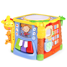Guyu Children's Early Education Music Tapping Drum 0-1-3 Years Old Babies Tapping Drum Baby Toys for 6-12 Months