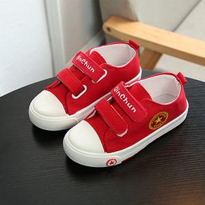 大东菲泺1到12周岁半2儿童3帆布鞋亲子鞋4男童5女童鞋子6宝宝婴儿