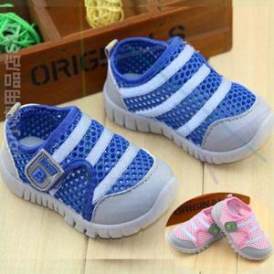 透气3岁中性儿童春秋童鞋男童网鞋运动鞋网婴儿鞋网面亲子宝宝鞋