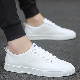 恩施耐克正品牌春夏男鞋小白鞋韩式平板鞋白色休闲皮面情侣运动鞋图片