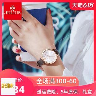 =聚利时手表女学生2020年新款小众品牌简约气质防水日韩腕表图片