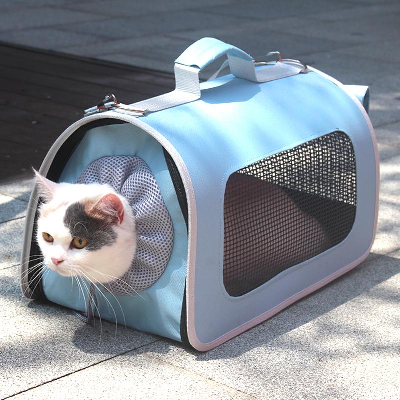 热销55件限时2件3折猫包宠物包外出便携透气猫笼狗狗猫咪背包手提猫袋单肩猫箱子狗包