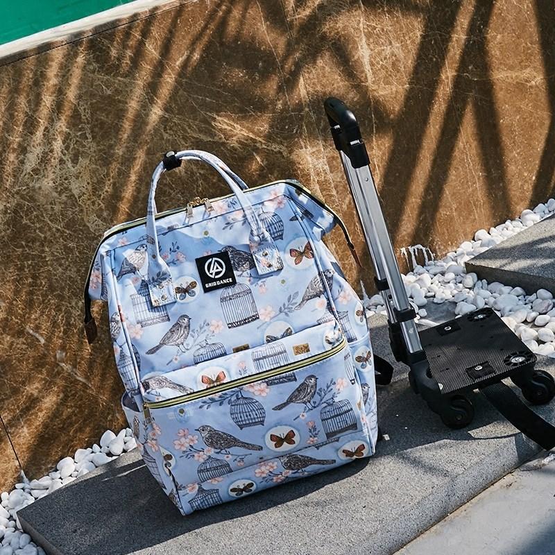 拉杆包旅行包手提登机行李箱包男女旅游包超轻防水可拆卸拉杆背包