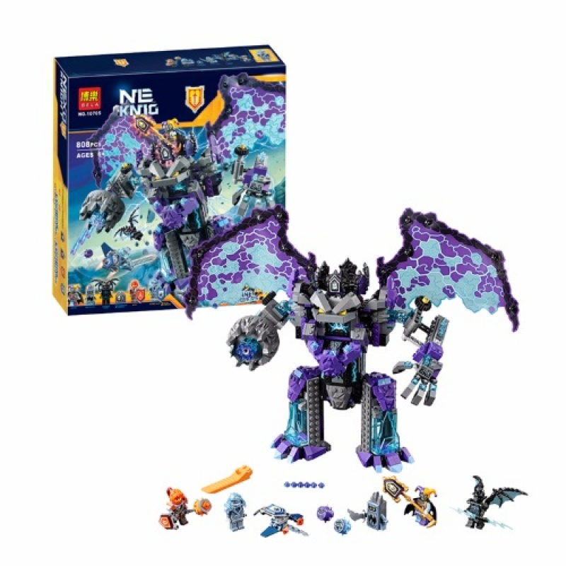 。 LEGO official website authentic future Knight Order stone Troll showdown 70356 boy assembled building block toys