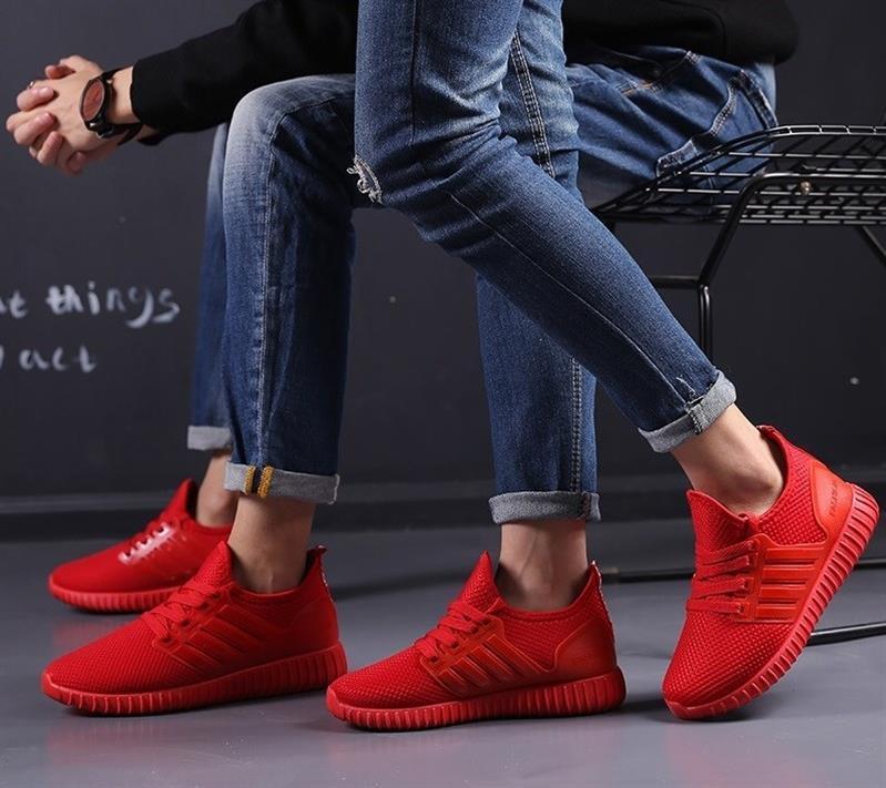 防臭黑色劳保鞋男女红色工地干活休闲酒店男装便宜工装老北京布鞋