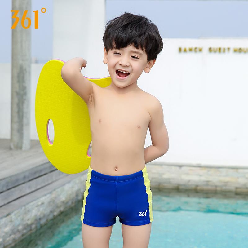 32.00元包邮361度游泳衣中大童男童平角短裤