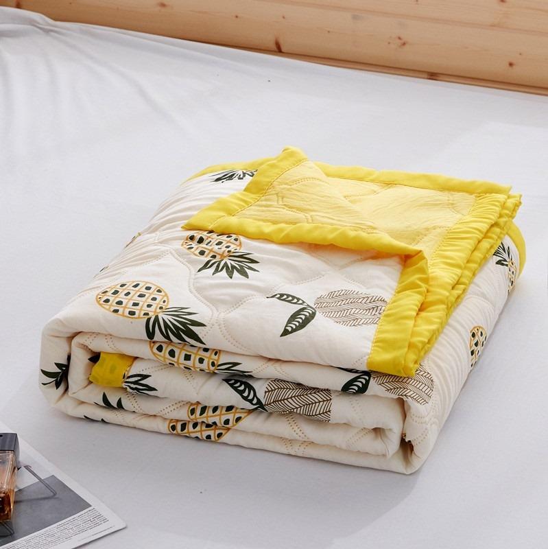 单人女生婴儿被子夏季薄款ins夏日学生同款褥子布料男生双人宿舍