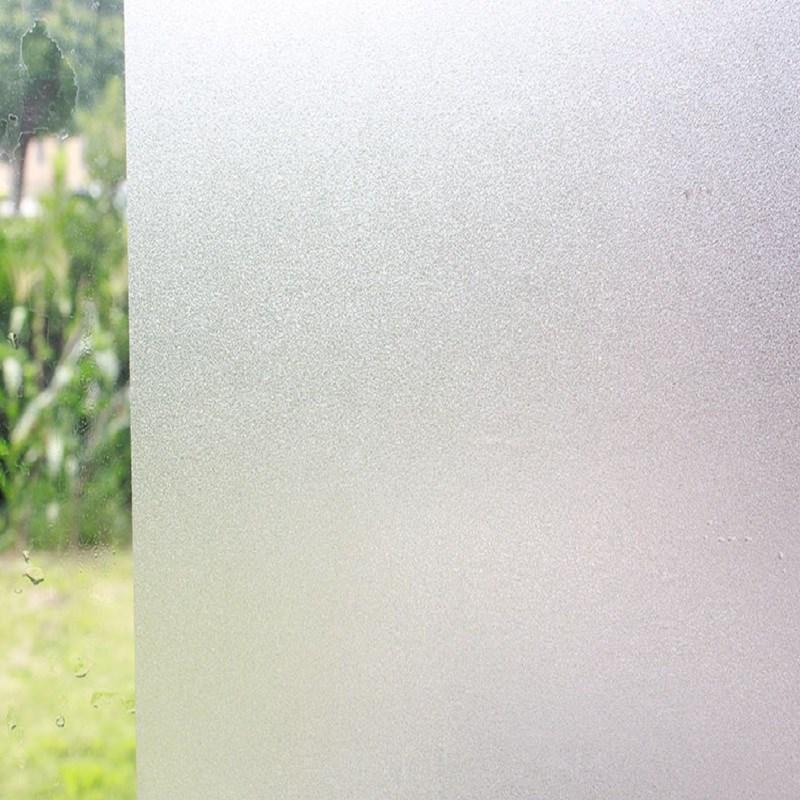 新窗户贴磨砂玻璃贴纸透光不透明办公室玻璃贴膜卫生间浴室窗花贴