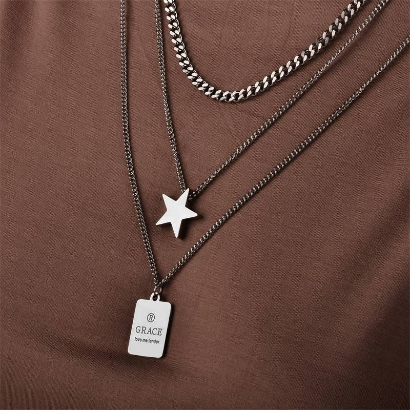 Sweater chain chain long pendant atmospheric womens wear personality fashion neckline pendant cardigan Necklace