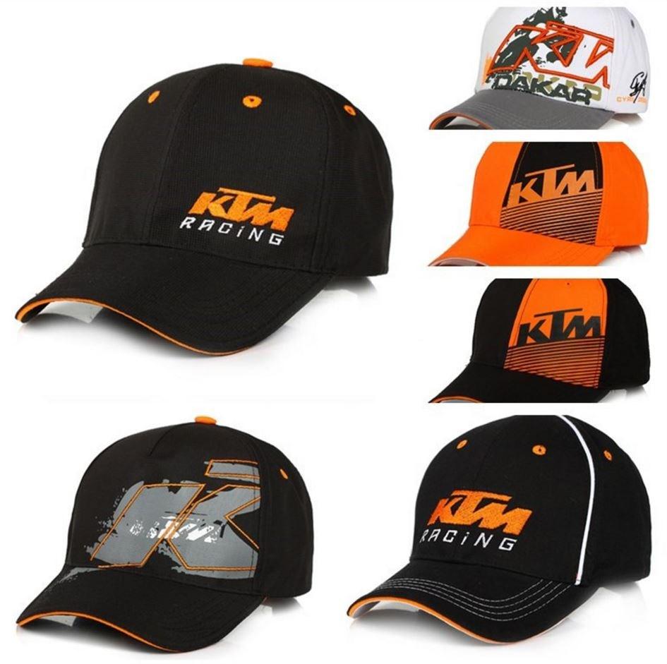 KTM棒球帽科马赛车帽子男女士鸭舌帽摩托车帽户外遮阳帽纯棉外贸