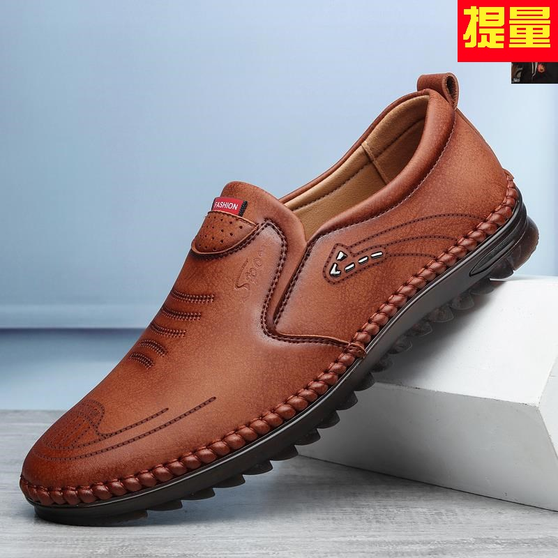 Kings super soft full soft leather + Oxford soft soled mens boutique business casual shoes 521 weiluzhe mens shoes