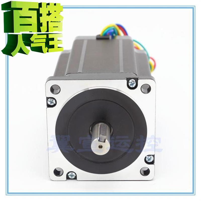 Torque Nm motor 86 double output shaft two phase four wire stepping motor drive a actuator 1.8 with brake