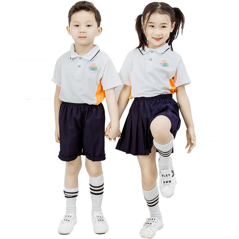 幼儿园园服夏季慧凡同款教育加盟园校服定制天生我材班服夏款短袖