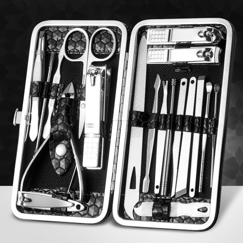 Manicure suit, nail clipper, nail clipper, armour, hand tool, dead skin, personal care, manicure, curved mouth, hand and foot set, MH