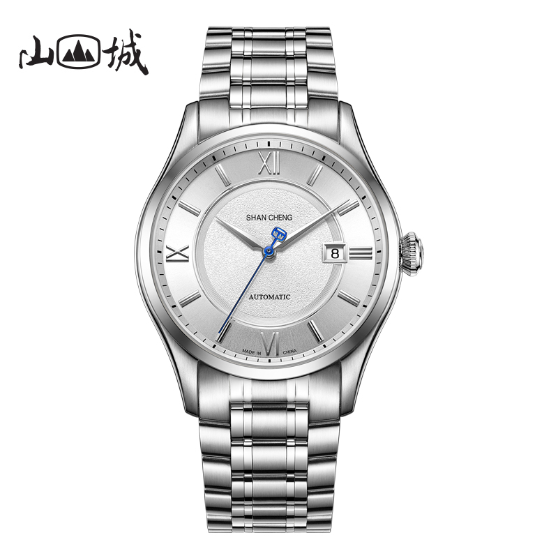 2019 new Shancheng watch mens domestic mechanical watch mens famous brand watch full automatic machine of China Observatory