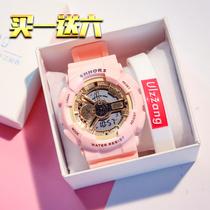 名瑞儿童手表男孩防水电子表多功能夜光跑步运动中小学生手表