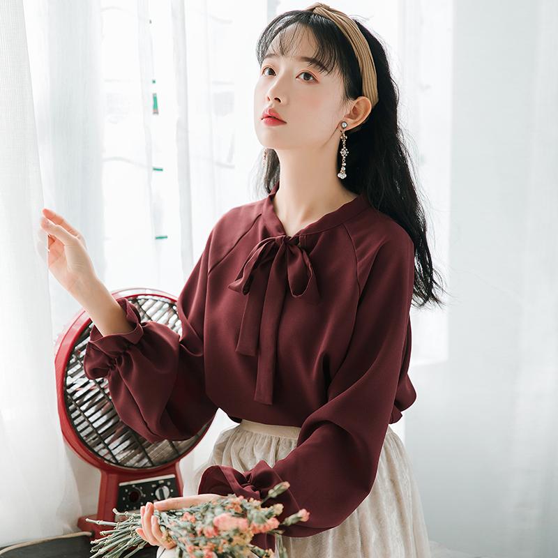 纯色小清新上衣是什么品牌
