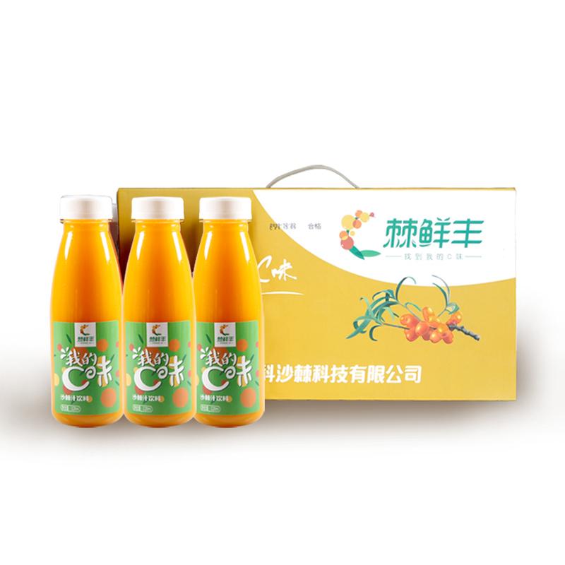 棘鲜丰沙棘原浆阿合奇新疆特产328ml/瓶*12瓶沙棘饮料