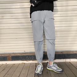 XZ803-1-A06-P50-k60 九分裤休闲裤工装裤束脚裤夏季学生
