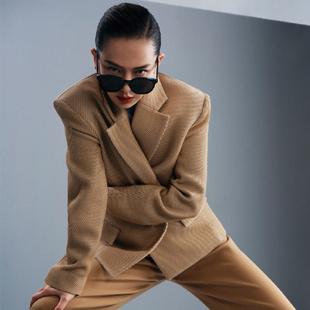 Skywell太阳镜女防紫外线2020新潮大框时尚眼镜大脸显瘦GM墨镜男